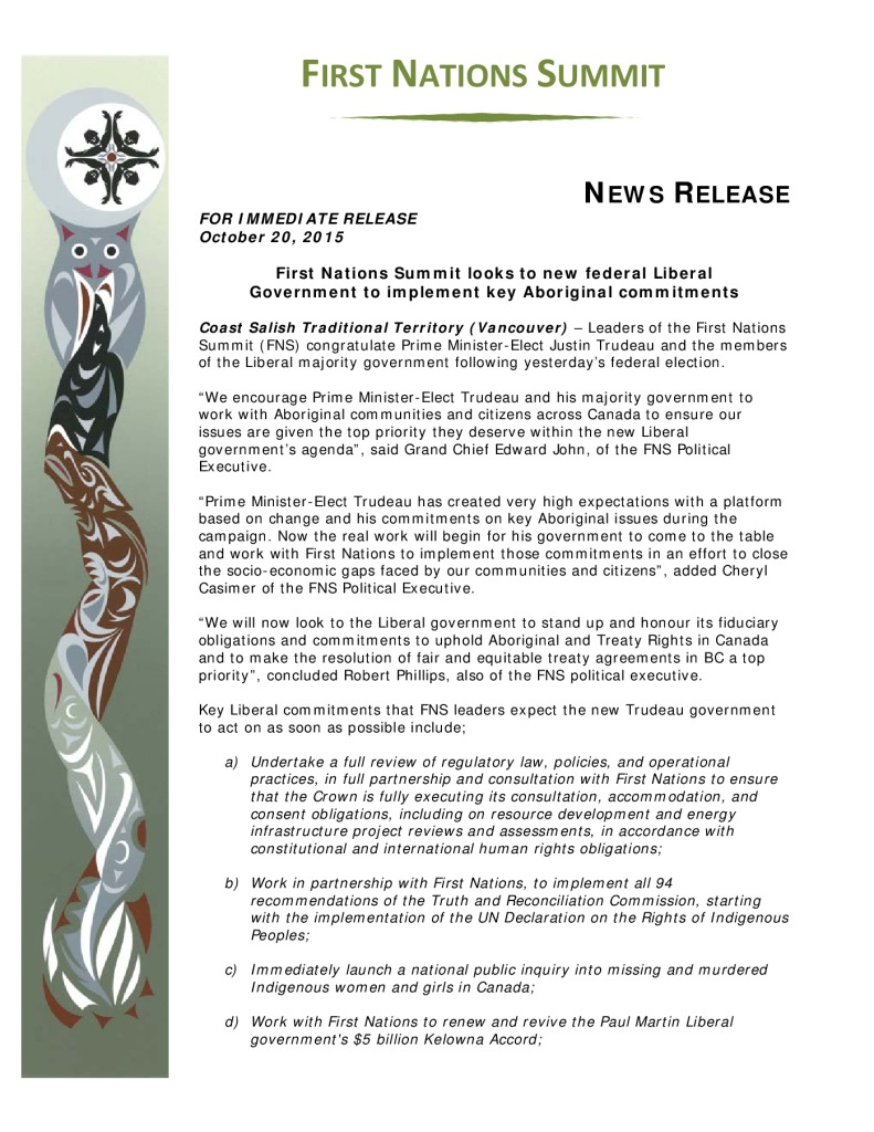 thumbnail of FNS-release-re-2015-federal-election-Oct-20-2015