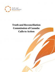 thumbnail of Truth and Reconciliations Commission Calls to Action