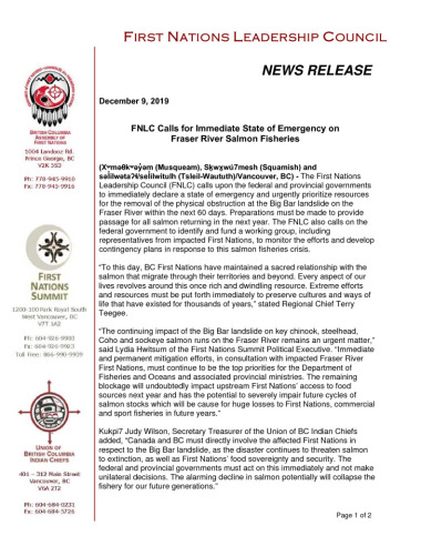 thumbnail of 2019Dec9_FNLC_PressRelease_reBigBarSlideMitigationFINAL