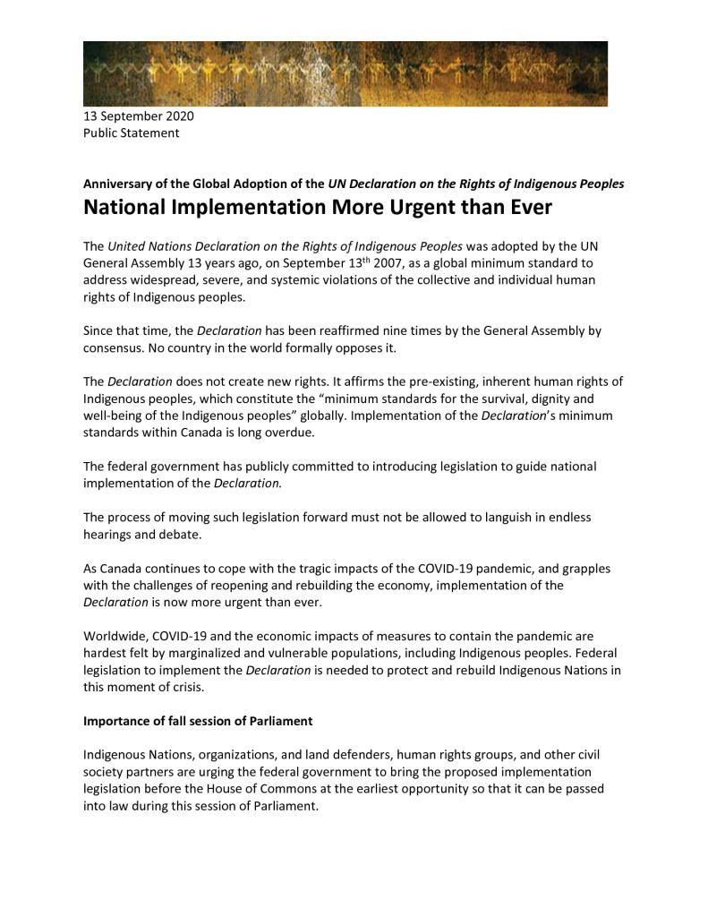 thumbnail of Coalition anniversary statement – Sep 13 2020 – final